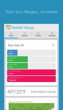 WebMD Allergy poster