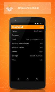 Dropsend Android screenshot 4