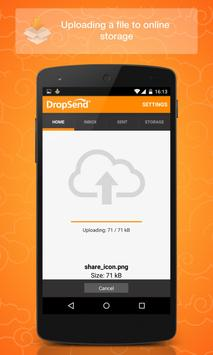 Dropsend Android screenshot 2