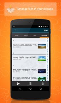 Dropsend Android screenshot 3