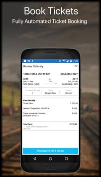 Live Train IRCTC PNR Status & Indian Rail Info screenshot 3