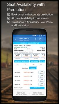 Live Train IRCTC PNR Status & Indian Rail Info screenshot 4