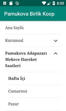 Pamukova Birlik Koop screenshot 2