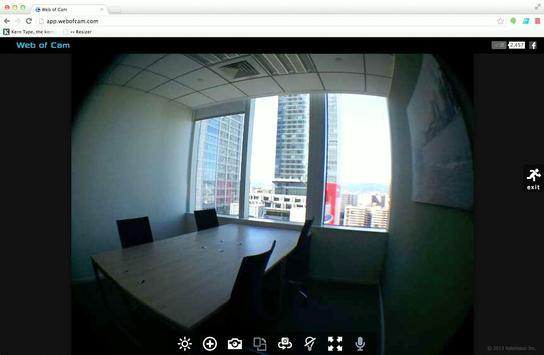 Gratis Wi-Fi Camera (WebOfCam) screenshot 5