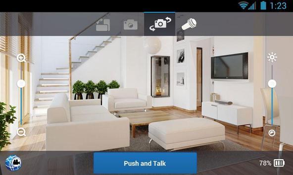 Wi-Fiを自宅の監視IPカメラ(ベビーモニター) スクリーンショット 7