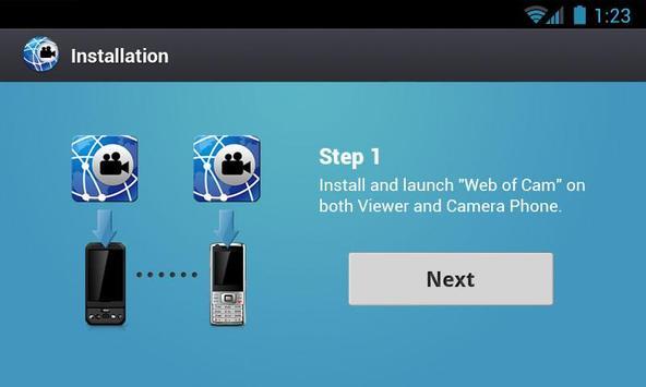 Gratis Wi-Fi Camera (WebOfCam) screenshot 9