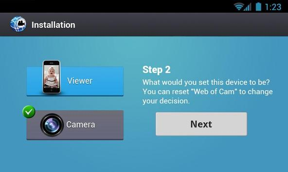 Gratis Wi-Fi Camera (WebOfCam) screenshot 10
