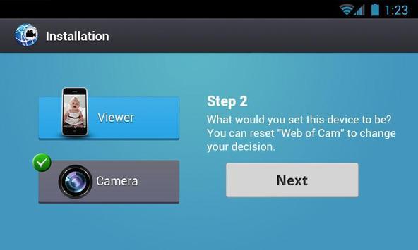 Gratis Wi-Fi Camera (WebOfCam) screenshot 16