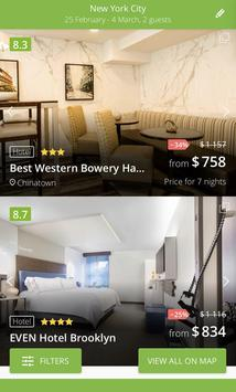 Compare Cheap Hotels - Hot Deals on accommodation screenshot 2
