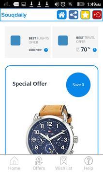 Souq Daily: Cheap deals online 2019 screenshot 1