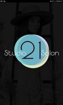 Studio 21 Salon poster