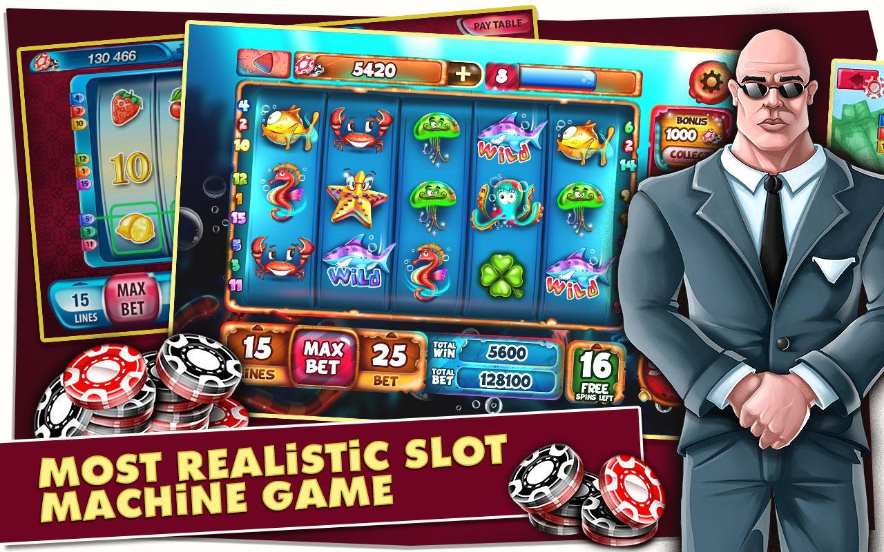 Lucky Spin Las Vegas Slot Machine Game For Android Apk Download