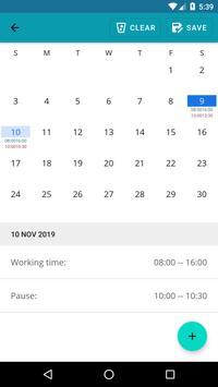 Timesheet Calculator screenshot 6