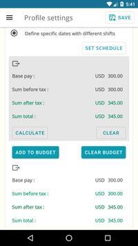 Timesheet Calculator screenshot 7