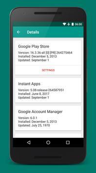 Play Services Info screenshot 1