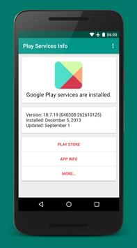 Play Services Info screenshot 2
