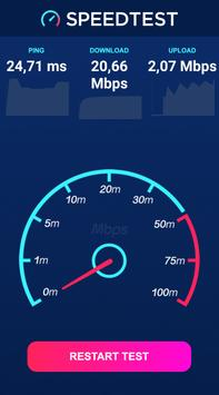 Internet speed test - Wifi, 4G, 3G and more screenshot 6