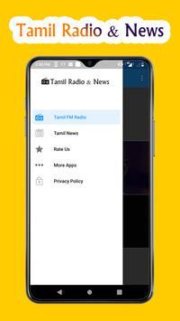 Tamil FM Radio Songs & Tamil News, Tamil Music FM poster