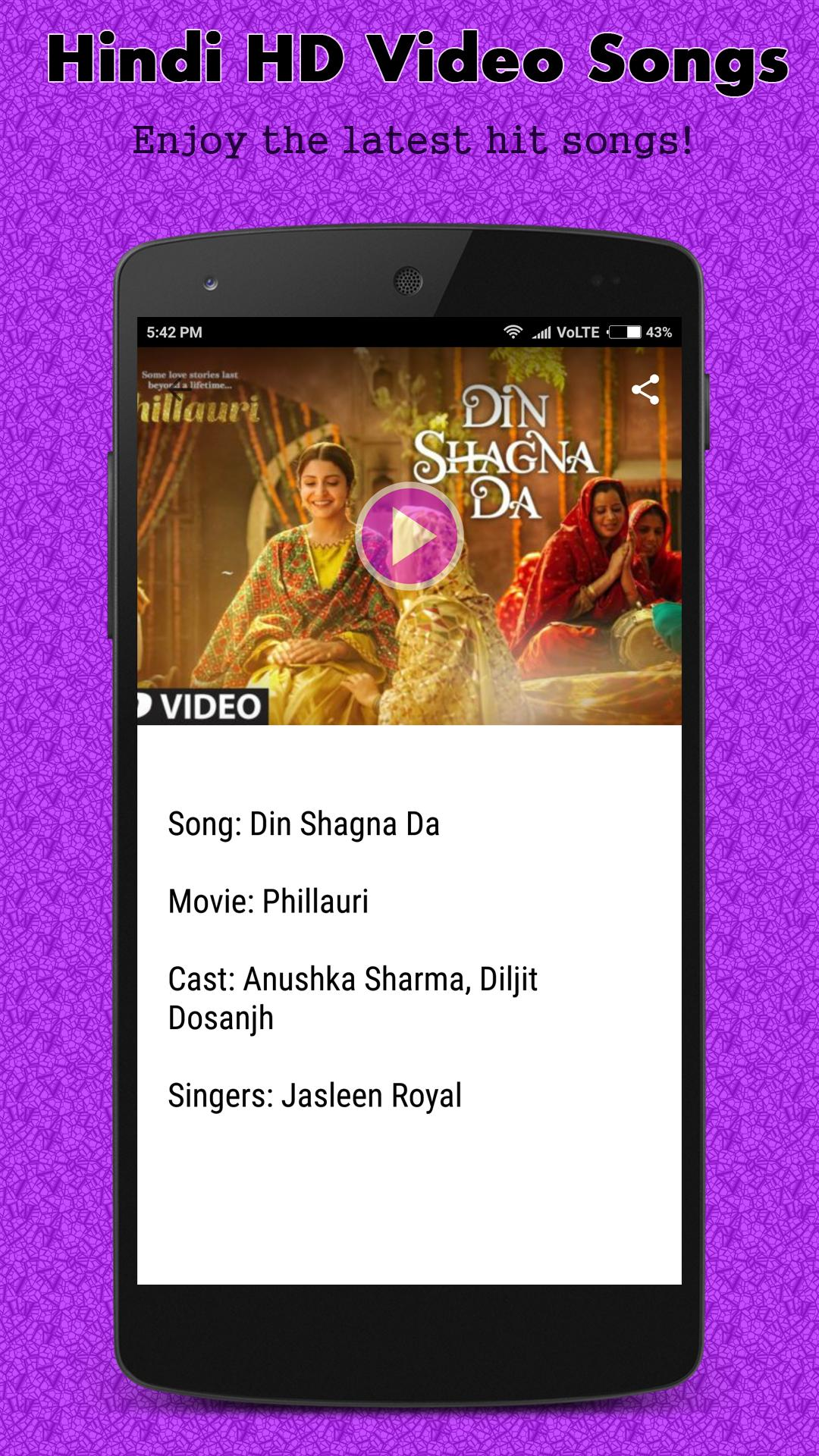 Hindi HD Video Songs for Android - APK Download