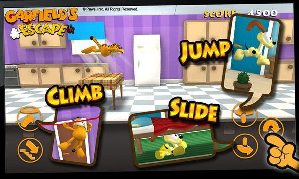 Garfield's Escape screenshot 1