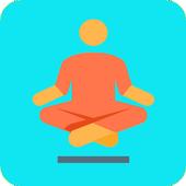 Yoga e-book Yoga poses fitness training icon