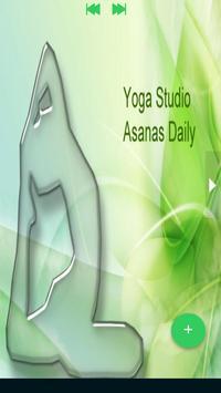 Yoga e-book Yoga poses fitness training poster