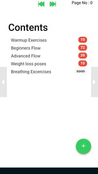 Yoga e-book Yoga poses fitness training screenshot 1