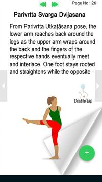 Yoga e-book Yoga poses fitness training screenshot 2
