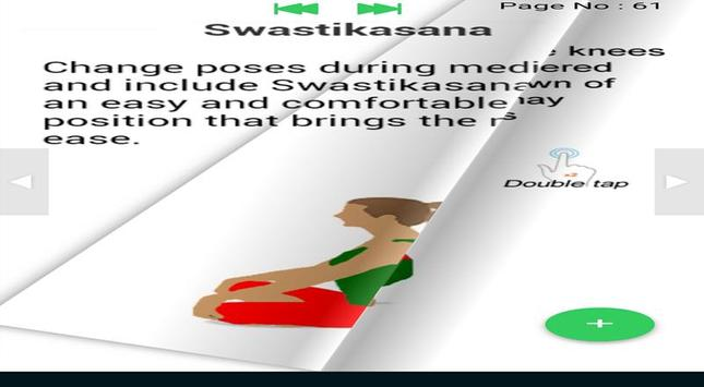 Yoga e-book Yoga poses fitness training screenshot 5