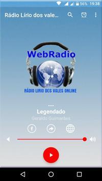 rádio lírio dos vales on line poster