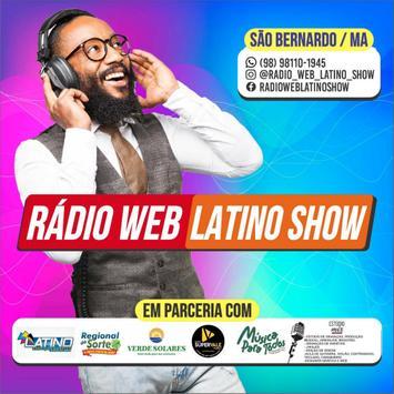 radio web latino show poster