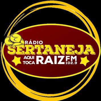 Sertaneja FM 102,9 poster
