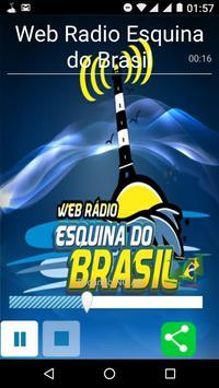 Web Rádio Esquina do Brasil poster