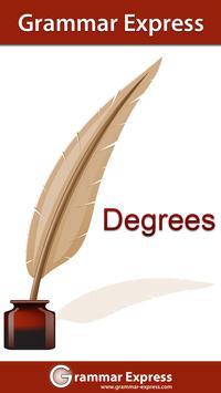 Grammar Express : Degrees Lite poster