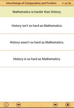Grammar Express : Degrees Lite screenshot 18
