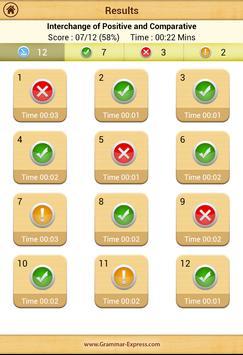 Grammar Express : Degrees Lite screenshot 19