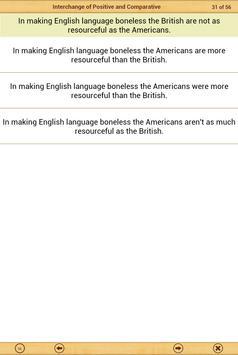 Grammar Express : Degrees Lite screenshot 10