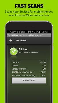Webroot Mobile Security & Antivirus screenshot 1