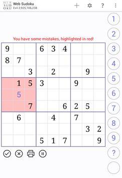 Web Sudoku スクリーンショット 8