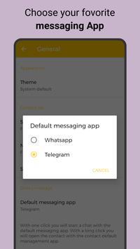 Direct Message, send Whats & Telegram in one app imagem de tela 2