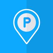 Find my parking location ícone