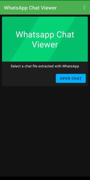 Chat Viewer for Whatsapp Ekran Görüntüsü 3