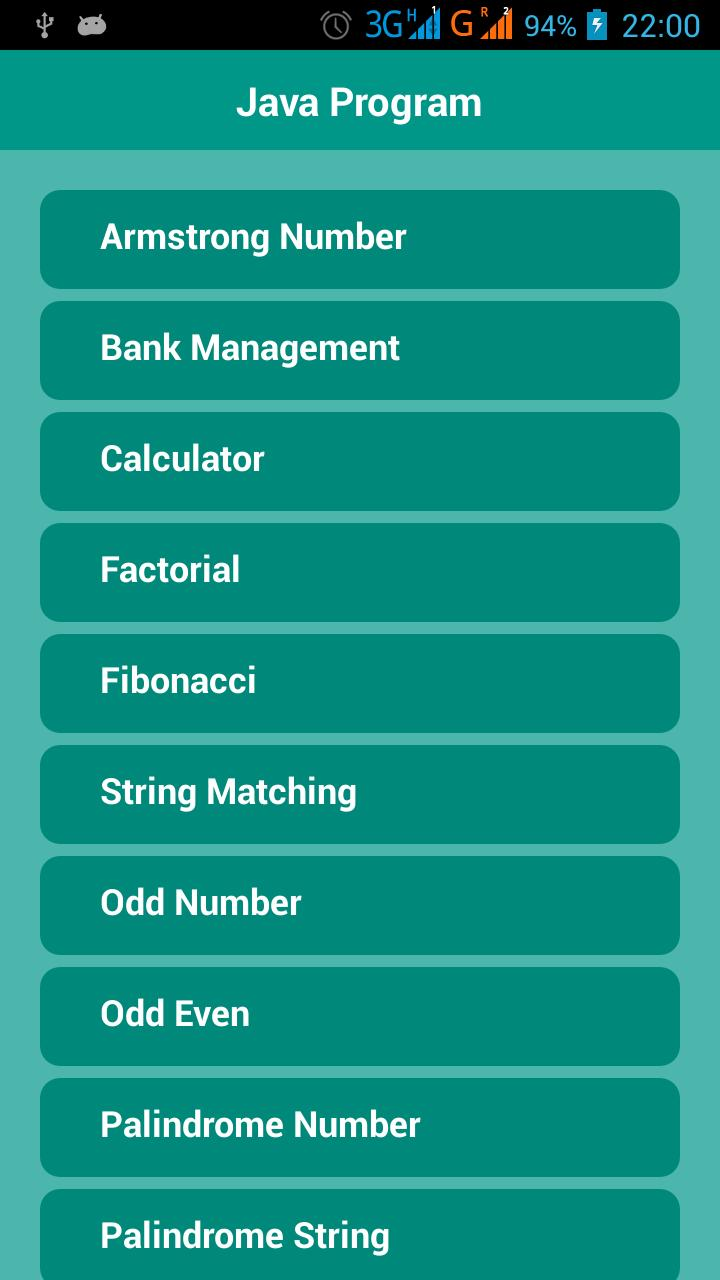 Java Program for Android - APK Download