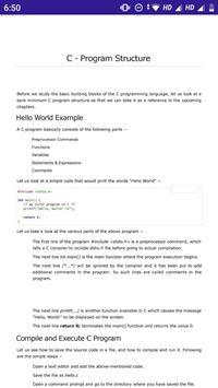 C Programming screenshot 3