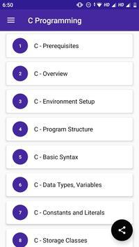 C Programming screenshot 1
