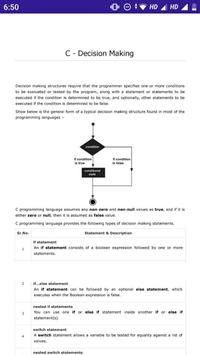 C Programming screenshot 2