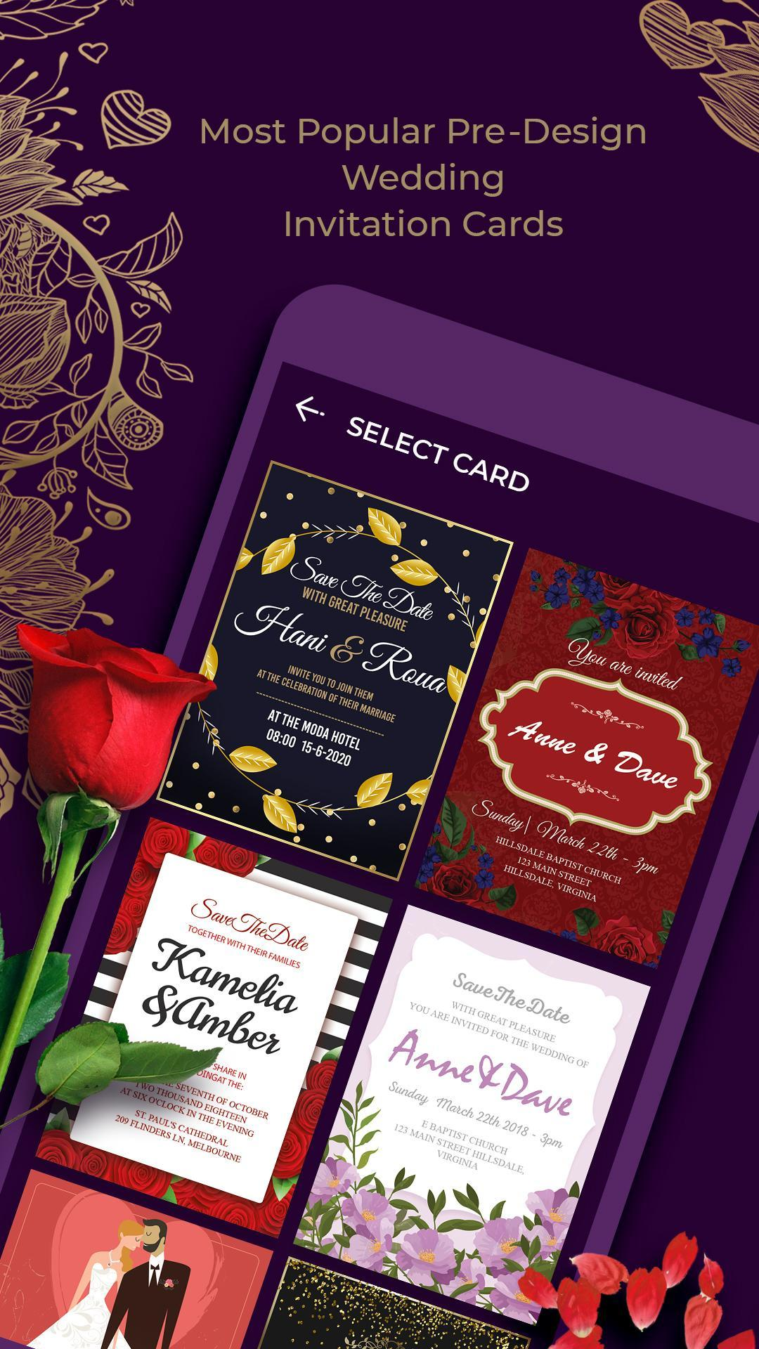 Wedding Invitation Card For Android APK Download