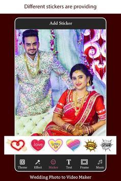 Wedding Photo to Video Maker with Music screenshot 3
