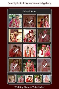 Wedding Photo to Video Maker with Music poster
