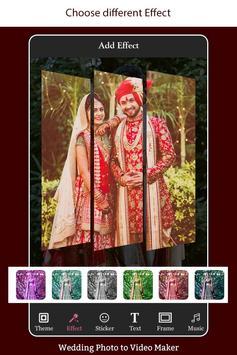 Wedding Photo to Video Maker with Music screenshot 2